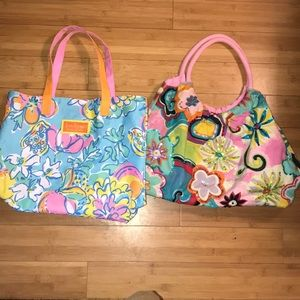 Lilly Pulitzer from Estée Lauder Beach tote